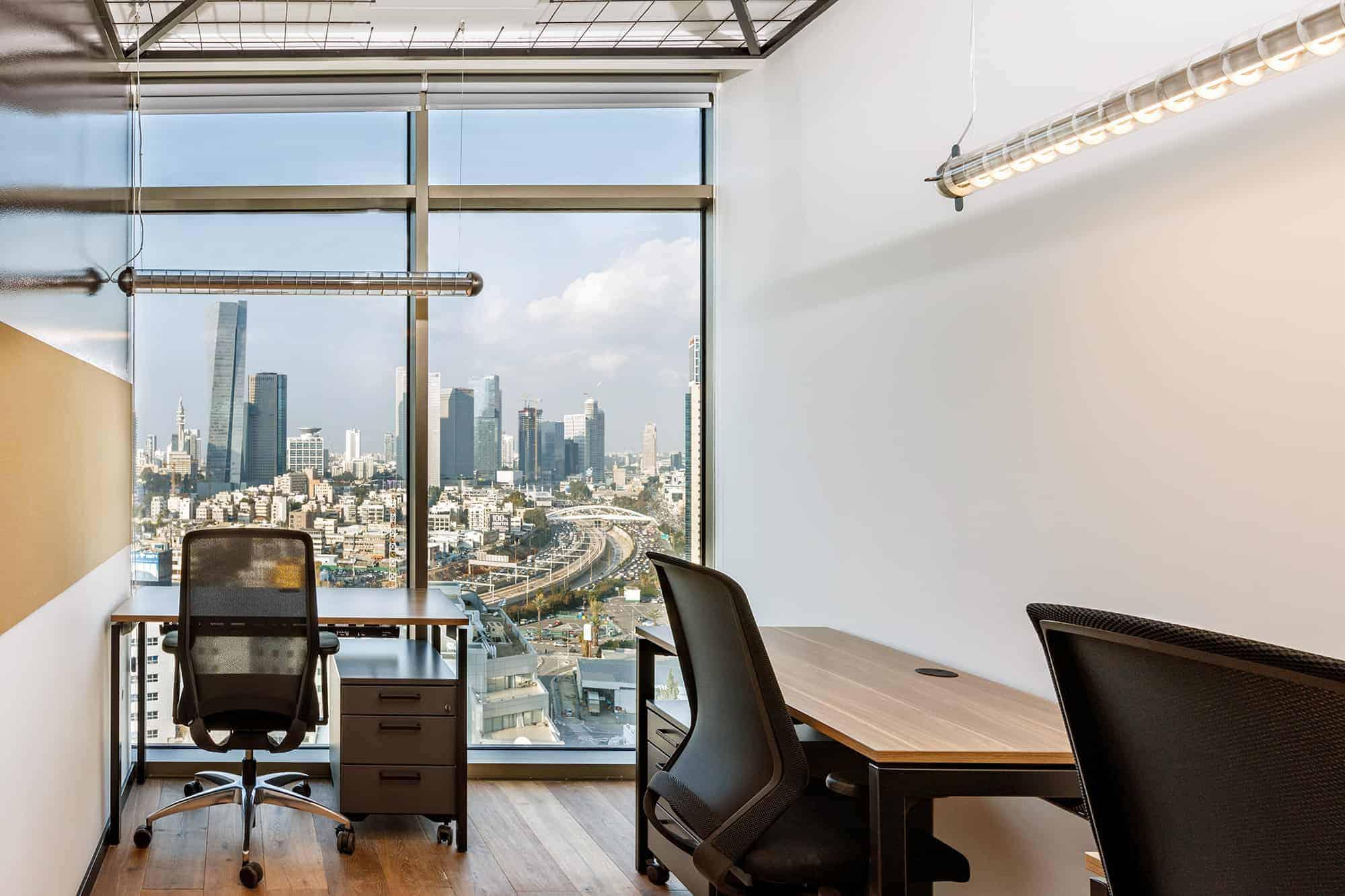 משרד להשכרה בחלל עבודה משותף Brain Embassy תל אביב